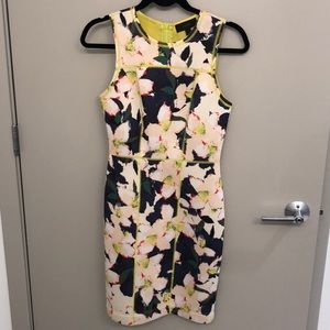 Jcrew Floral Cocktail Dress